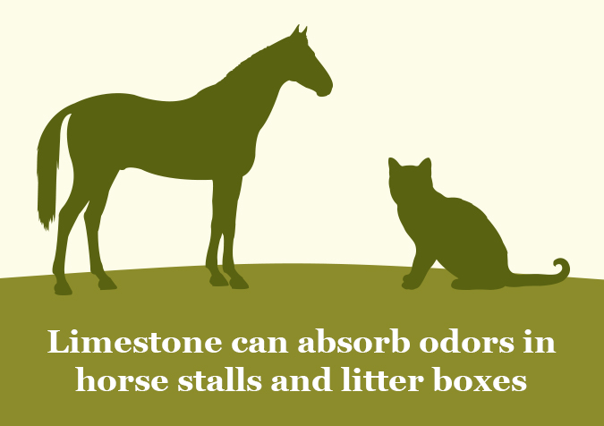 limestone for horses and litter boxes