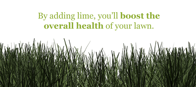 lime for lawns