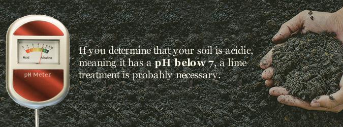 acidic soil treatment